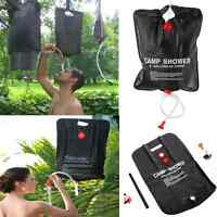 20L Solar Heated Portable Camping Shower Bag Outdoor Hiking PVC Water Bag