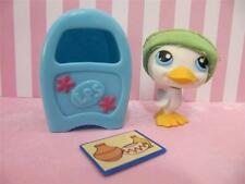 LPS Littlest Pet Shop WHITE DUCK AND MAIL BOX & SANTE FE LETTER