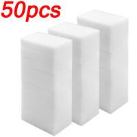 "50 Magic Sponge Eraser BULK PACK Melamine Cleaning Foam 10x6x2cm 3//4/"" Thick USA"