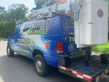 Boom Bucket Truck Ford Van 2001 Commercial Electric