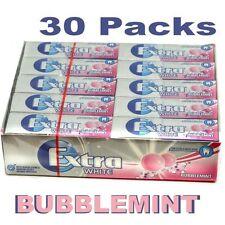 Wrigley's Extra Chewing Gum Bubblemint Sugar Free 30 x 14g