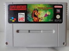 SNES juego-timón & Pumbaa's Jungle Games (PAL) (módulo)