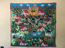 Peruvian Tapestry  Folk Art