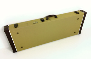 Haze Rectangle Electric Guitar Hard Case,Strat./Tele.,Lockable,Twill. 040STAY