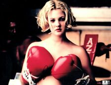 Drew Barrymore Signed Autographed 11X14 Photo Sexy Boxing Gloves GV756063