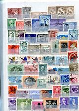 Perfekte Sammlung Argentinien Handgestempelt 343 Marken Briefmarken