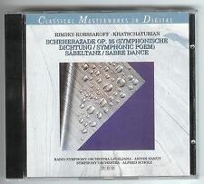 CD Classical Masterworks in Digital SCHEHERAZADE op.35 SÄBELTANZ Khatschaturian