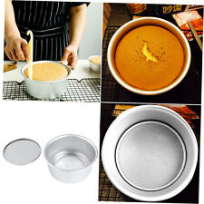 New 6inch Aluminum Alloy Non-stick Round Cake Bake Mould Pan Kitchen Tool FJAUTE