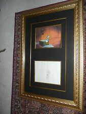 Disney Donald Duck Cell (Framed) 39x26  in beautiful gold colored frame