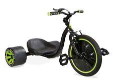 """Madd Drift Trike 16"""" Mini Drifter Dreirad Rutscher Kinder Chopper grün/schwarz"""