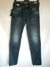 "Replay Anbass Jeans M914Y, 30/32"", Laser Blast Faded Blue Denim, RRP-£135, BNWT"