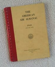American Air Almanac 1949 United States Naval Observatory
