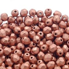Glass Faceted Metallic Jewellery Making Beads
