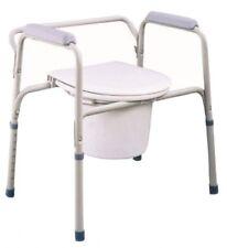 Toilettenstuhl Nachtstuhl WC - Stuhl Stahl TGR-R KT-S 668 Timago