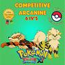 Pokémon ORAS / XY – COMPETITIVE ARCANINE 6IV's Shiny / No Shiny