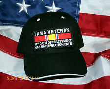 I AM A VET MY OATH OF ENLISTMENT HAS NO EXPIRATION DATE HAT US ARMY AIR FORCE