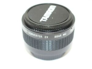 Tamron 2x Tele Converter for Pentax M42 Screw Fitting Lenses