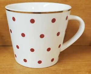 Grace's Teaware Pink Polka Dot Mug, Gold trim, Grace Tea Ware, Excellent
