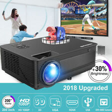 7000Lumen LED Videoproiettore 1080P Android HomeCinema Proiettore HDM/AV/VGA/USB