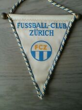 "COLLECTOR - Fanion Football - FUSSBALL-CLUB ZÜRICH - Année 70"" - VINTAGE"