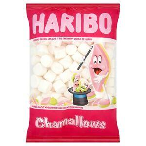 Haribo Charmallows Sweets - 1 KG Sack - Weddings Parties Resale