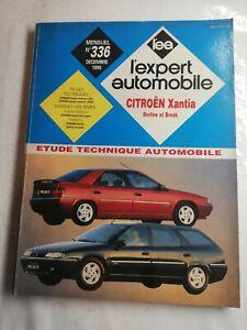 N83 EXPERTO Automóvil N° 336 Diciembre 1995 Citroen Xantia Berlina Y Break