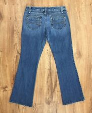 Aeropostale Stretch Boot Cut Jeans Factory Distressed Great Look Womens 7/8 S
