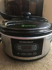 Hamilton Beach 5-Quart Portable Slow Cooker, Stay or Go