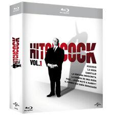 Hitchcock COLECCION 14 PELICULAS EN Blu-Ray VOLUMENES 1 Y 2 CASTELLANO NUEVO