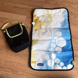 Enfamil Travel Diaper Changing Pad And Bag Newborn Infant Travel