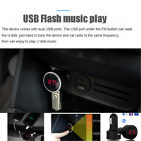 Car Audio Transmitter Receiver Bluetooth Phone Connector Radio MP3 Player