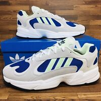 Adidas Originals Yung-1 (Men's Size 10.5) Athletic Running Sneakers Gray Shoe