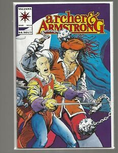 3X Archer and Armstrong #8 1st appearance of Ivan TIMEWALKER 1993