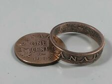 Canada Ring Penny Canadian Coin Ring - Hand Made in Canada