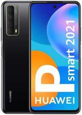 Huawei P Smart 2021 Dual-SIM 128 GB schwarz Smartphone Handy (Wie NEU in OVP)