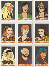 Hercules Xena original artwork John Czop insert trading card set factory sealed