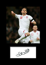 FRANK LAMPARD #2 Signed Photo Print A5 Mounted Photo Print - FREE DELIVERY