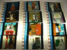 AQUA TEEN HUNGER FORCE Lot of 100 Film Cells - Compliments movie memorabilia dvd