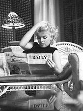 MARILYN MONROE - NEWSPAPER - FINE ART PRINT POSTER 13x19 - MM069