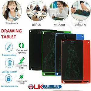 DRAWING TABLET DIGITAL LCD WRITING GRAPHIC BOARD ELECTRONIC KIDS PAD FUN GIFT UK