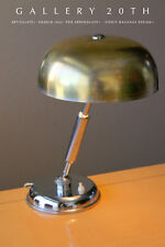 ICONIC! BAUHAUS ANGELO LELLI ARREDOLUCE CHROME LAMP! 50S MID CENTURY MODERN DESK