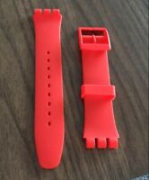 Watch Band Strap Wrist 16MM 17MM 19MM 20MM Silicone Rubber For Swatch Bracelet