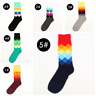 Men's Taco Socks COTTON Happy Novelty Sox Size 7-13 Unisex Fashion Funky AUS 2