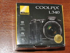 Open Box - Nikon COOLPIX L340 Camera 20.2MP Camera - BLACK - 018208264841