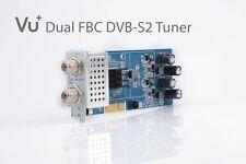 VU+ DUAL DVB-S2 FBC (8 Demodulators) Tuner Module for Uno 4K and Ultimo 4K NEW