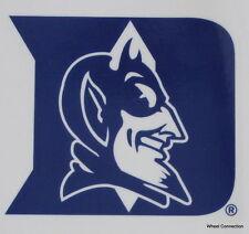 Duke University Blue Devils Window Cling Lic NCAA Sticker College Football Decal