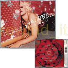 "MADONNA ""HUMAN NATURE"" RARE CDS 3 TRACKS 1995 - MINT"