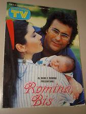 TV SORRISI CANZONI=1987/26=ROMINA POWER ALBANO=PETER GABRIEL=BIANCANEVE=CAVINA G