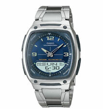 Casio Men's Data Bank Watch, 3 Alarms, 30 Meter WR, Chronograph, AW81D-2AV