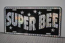 RETRO 1970'S PRISM SUPER BEE METAL LICENSE PLATE DODGE 70'S STREET FREAK 383 440